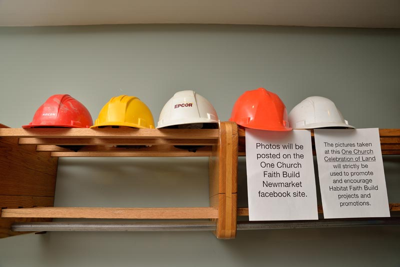 We got lots of hard hats, so we're calling on all heads of varying shapes and sizes to come on out and fill them!