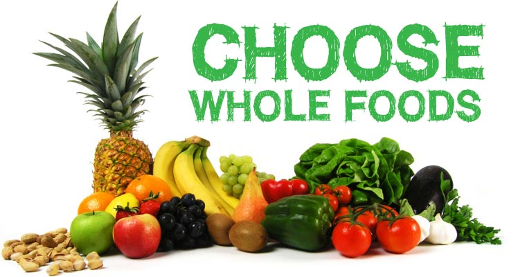 Choosing whole foods